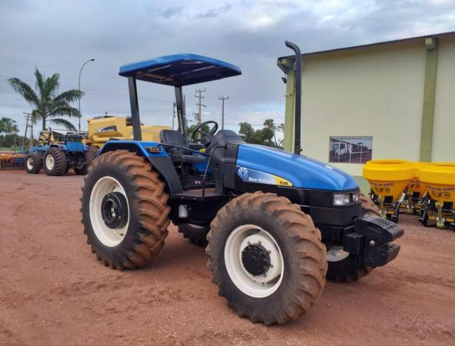 NEW HOLLAND TL 95 - ANO 2008 - MOTOR MWM TURBO
